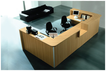 Reception Table Office Furniture Saudi